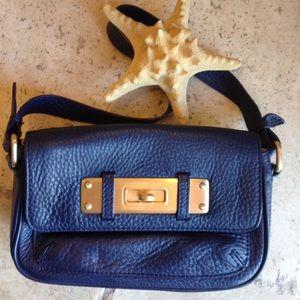 Leather Mini Shoulder Bag EUC